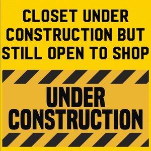 Closet Open During Construction